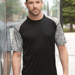 4151 Adult Blend Sport Short Sleeve T-Shirt Thumbnail